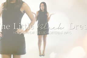 The Little Black Dress 4 Ways